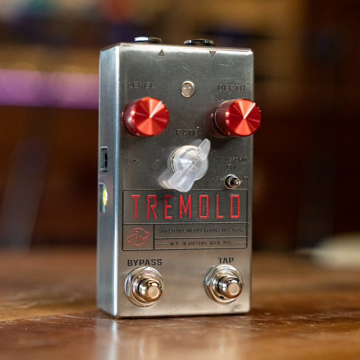 Cusack Music Tremolo AME - Mini Tap Tempo Tremolo Pedal