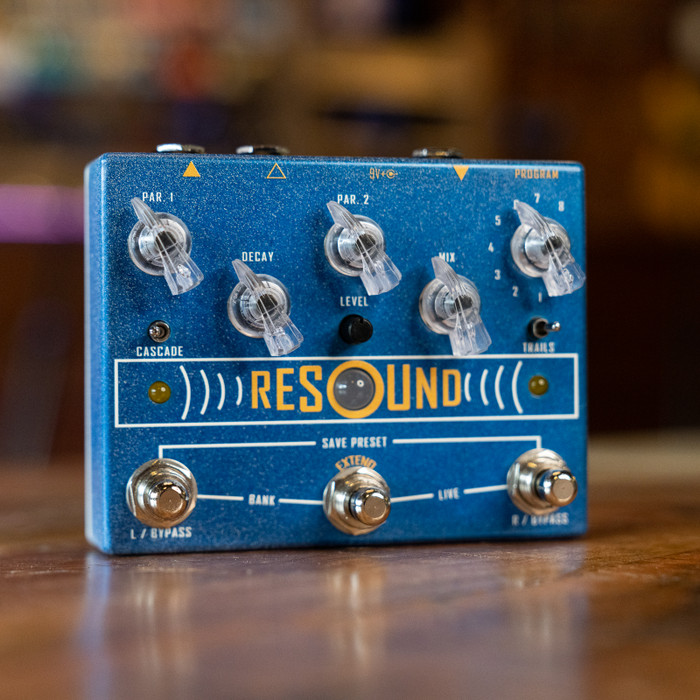 Cusack Music Resound Reverb Pedal w/ Presets and Extend
