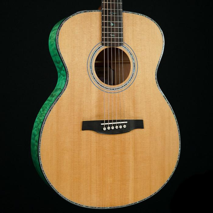 PRS SE Tonare T55E Acoustic/Electric - Abaco Green