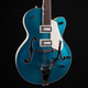 Gretsch G5410T Limited Edition Electromatic Tri-Five Hollowbody - Two-Tone Ocean Turquoise/White
