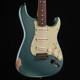 Fender Custom Shop 1962 Stratocaster Relic - Faded Sherwood Green Metallic