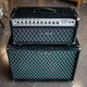 Two-Rock Silver Sterling Signature 100/50 Head and 2x12 Cab - Black Suede w/ Diamond Grill