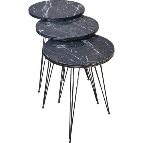 Marble Metal Foot Coffee Table