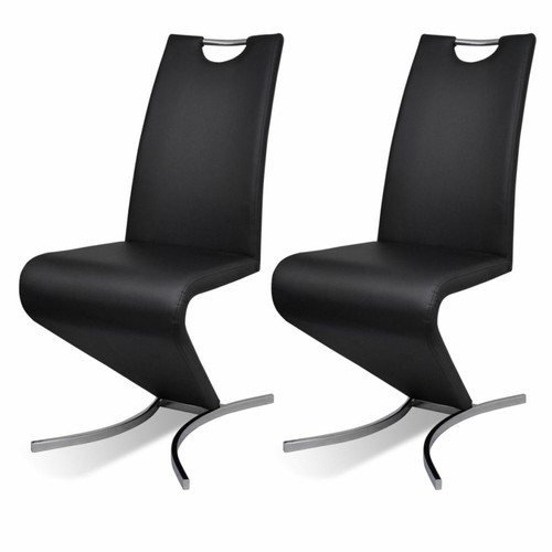 2pcs Leatherette Dining Chairs