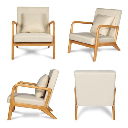 Nordic Sofa Chair Reading Armchair