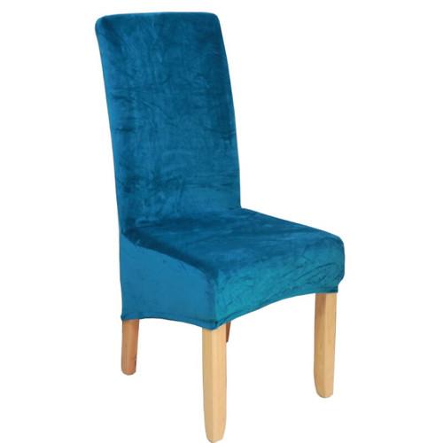 Real velvet fox fabric chair cover