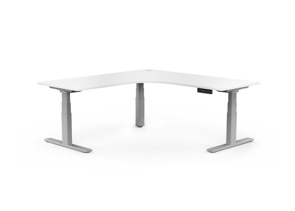 Ritehite Sit/Stand Electric Corner Desk 1500 mm sq. x 700 mm