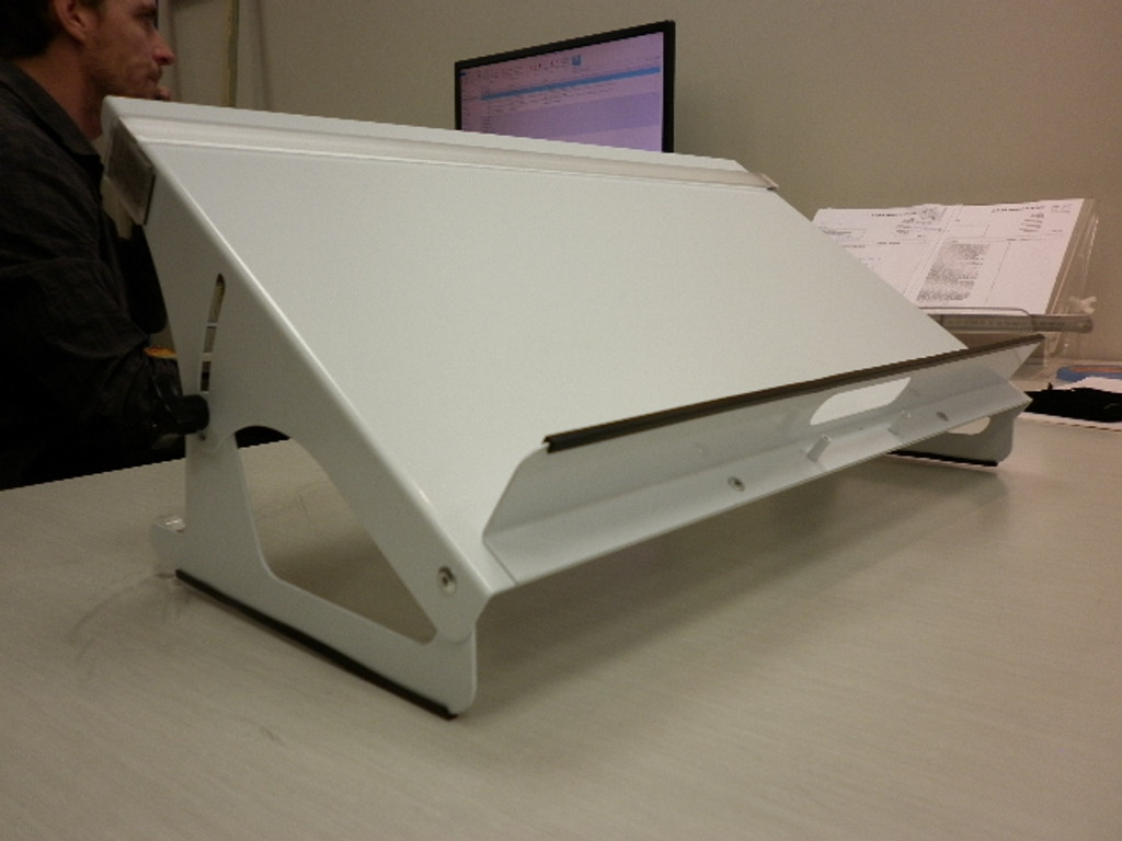 Riteaway Copyholder Steel  500mm Ledge