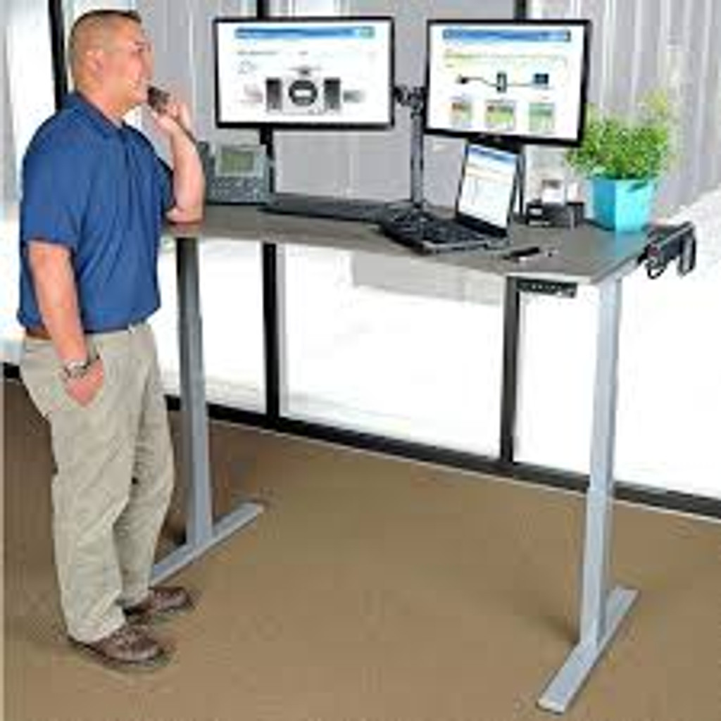 Ritehite Sit/Stand Electric Rectangle Desk range