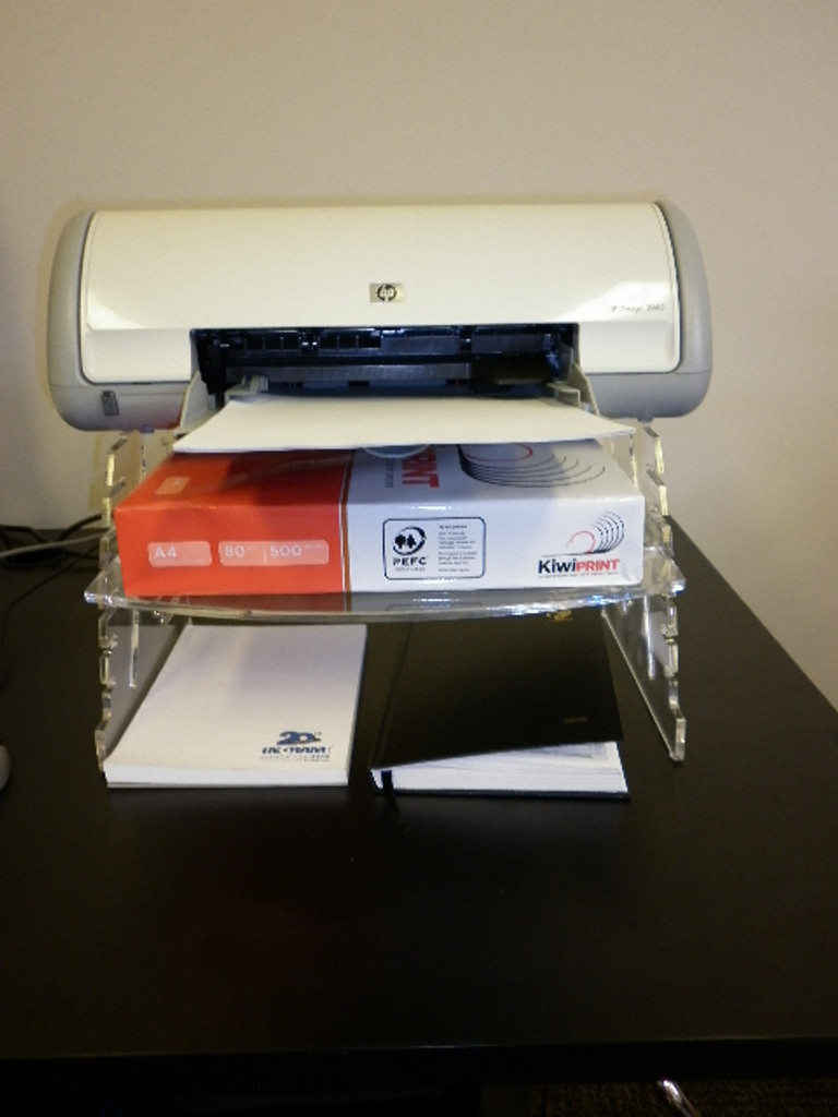 Spacetidy with Printer monuted