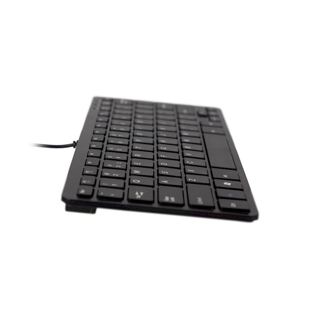 Keyboard Anti-glare Compact R-Go Wired Black