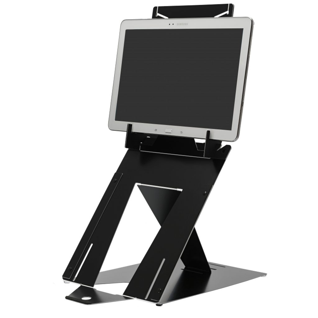 R-Go Duo Tablet and  Laptop Stand adjustable Black