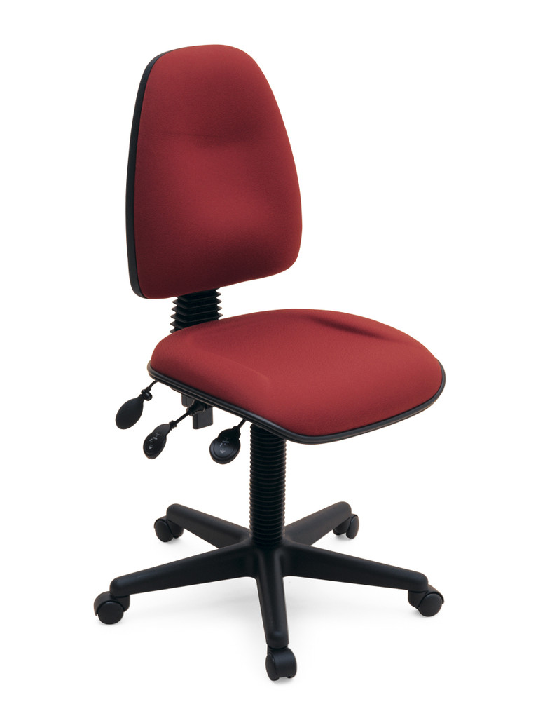 Chair Spectrum 3 lever with inflatable lumbar and long seat