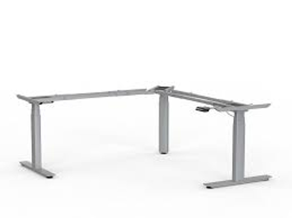 Ritehite Electric Sit/Stand corner workstation FRAME ONLY