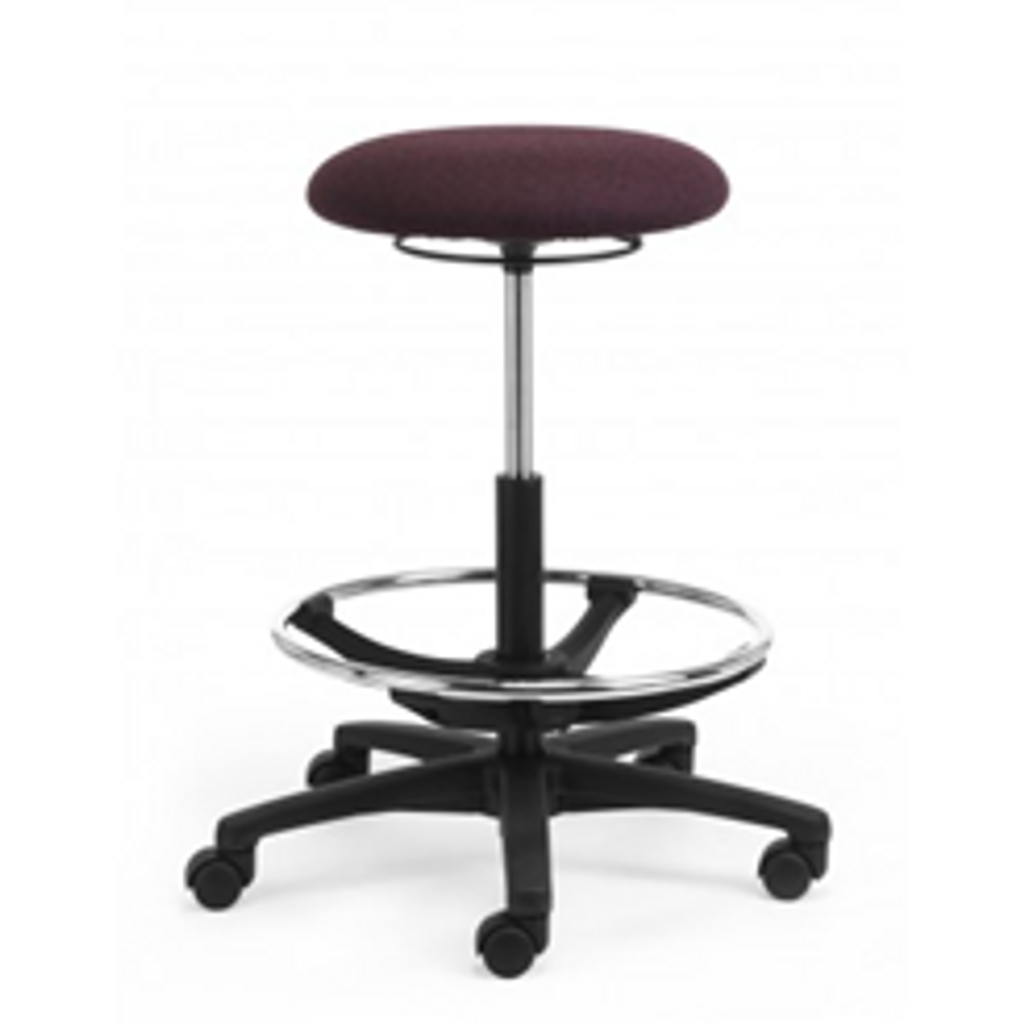 Stool Alpha fabric with high gas lift