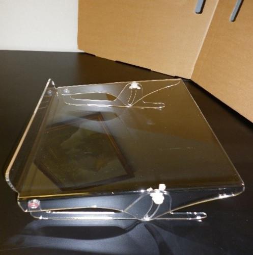 Crystal Datadesk Copyholder 425 mm wide 375 mm wide ledge
