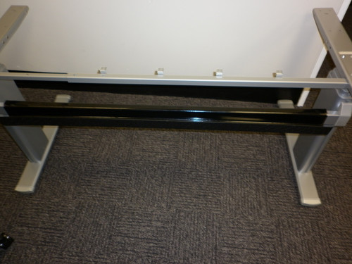 Ritehite Cable tray on Sit/stand desk crossbar