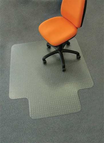 Plastic chair mat 900mm wide x 1200mm long