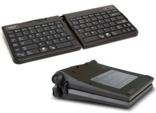 Keyboard Mini split and tent fold over Goldtouch GO2 Bluetooth