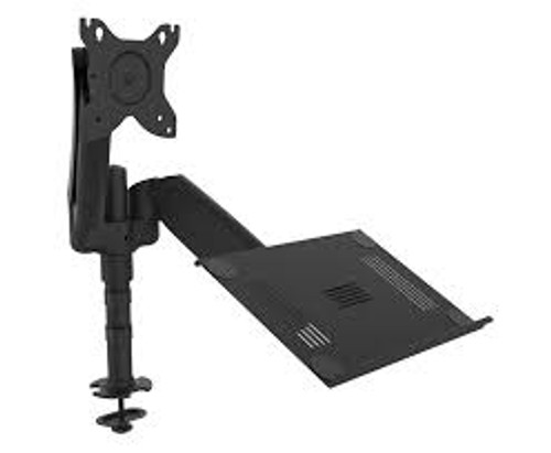 Monitor arms dual with extended gas strut Boyd