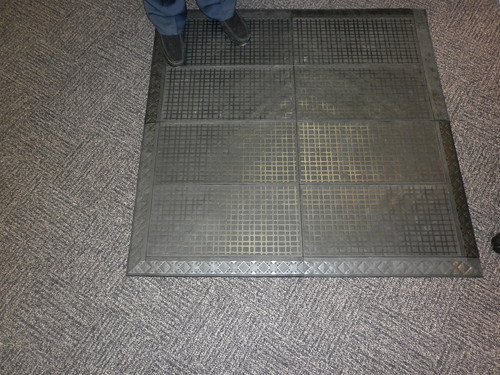 Sit/Stand Compression mat Ergomat  Compression 1120mm x 1120mm x 15mm