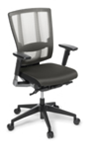 Cloud Ergo chair fabric seat with arms