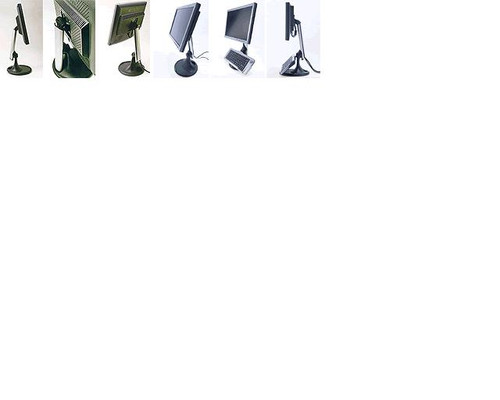 VISIDEC MONITOR ARM SPRING ADJUSTABLE- BLACK