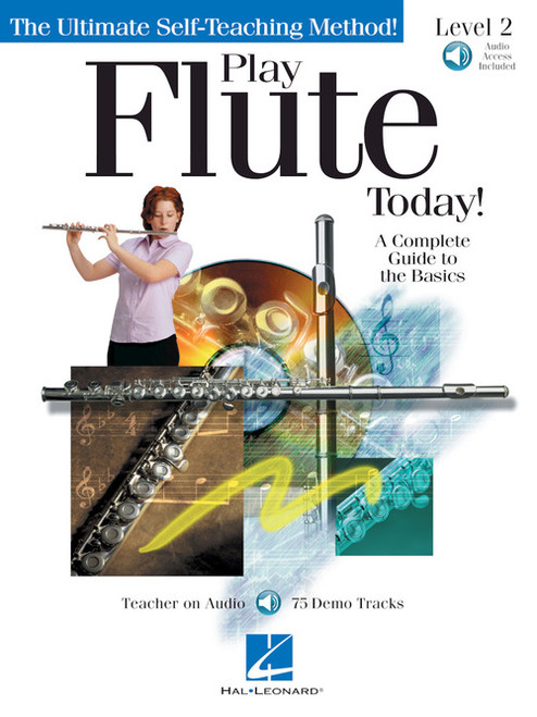 Play Flute Today! Level 2 (Book/CD Set)