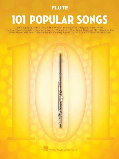 101 Popular Songs for Flute