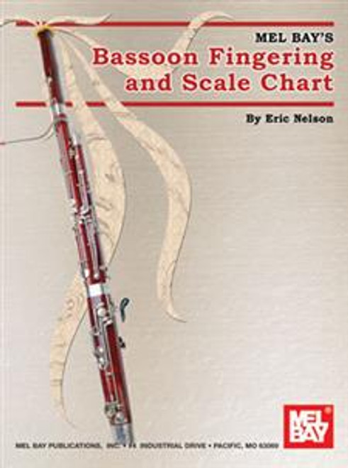 Mel Bay's Bassoon Fingering and Scale Chart by Eric Nelson