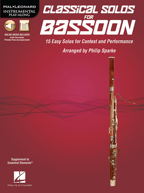Hal Leonard Instrumental Play-Along - Classical Solos for Bassoon by Philip Sparke (Book/CD Set)