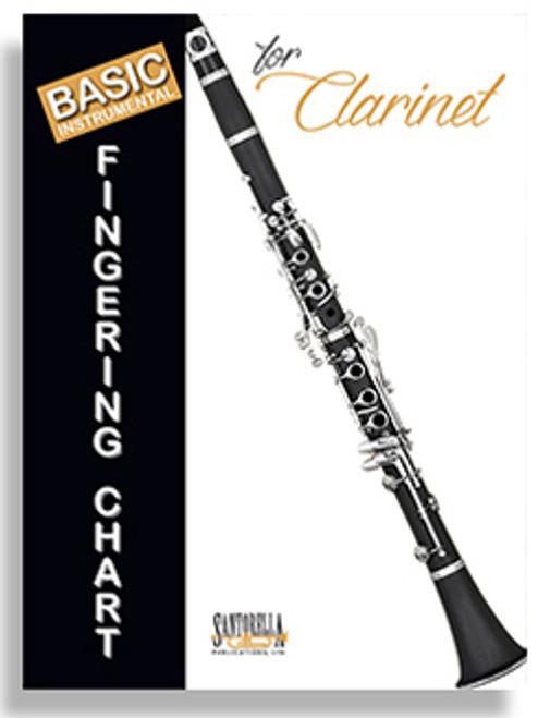 Basic Instrumental Fingering Chart for Clarinet