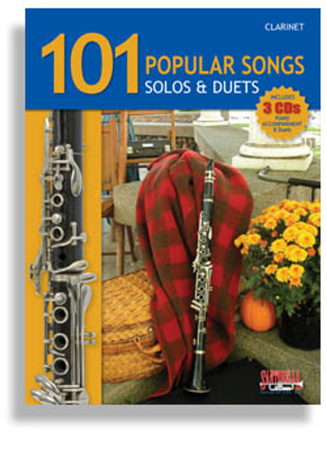 101 Popular Songs Solos & Duets for Clarinet (Book/CD Set)