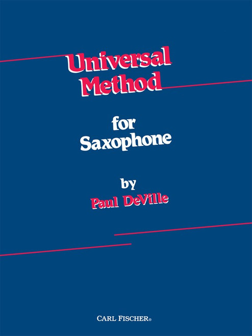 Universal Method for Saxophone by Paul DeVille