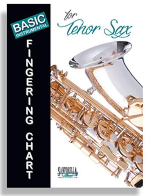 Basic Instrumental Fingering Chart for Tenor Sax