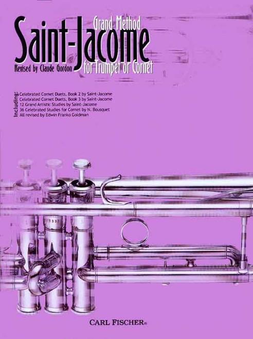 Saint-Jacome - Grand Method for Trumpet or Cornet by Claude Gordon
