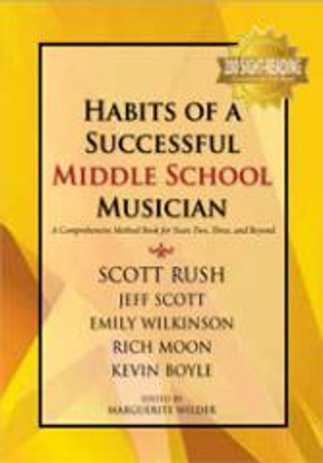 Habits of a Successful Middle School Musician - Percussion(G-9157)