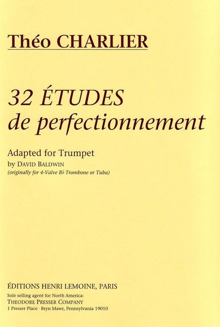Théo Charlier - 32 Études de Perfectionnement Adapted for Trumpet by David Baldwin