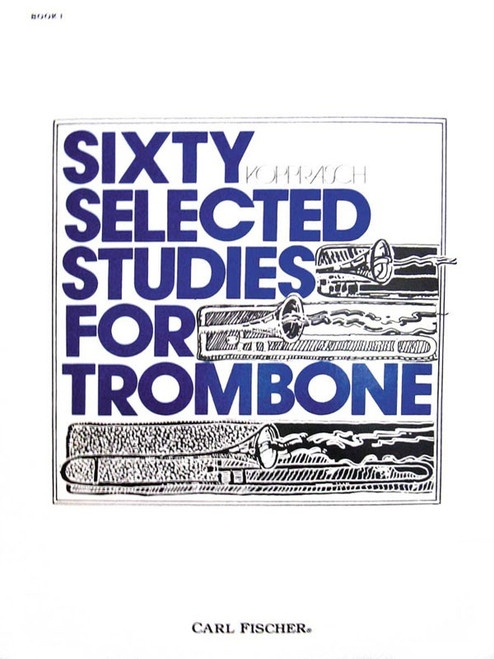 Kopprasch - Sixty Selected Studies for Trombone