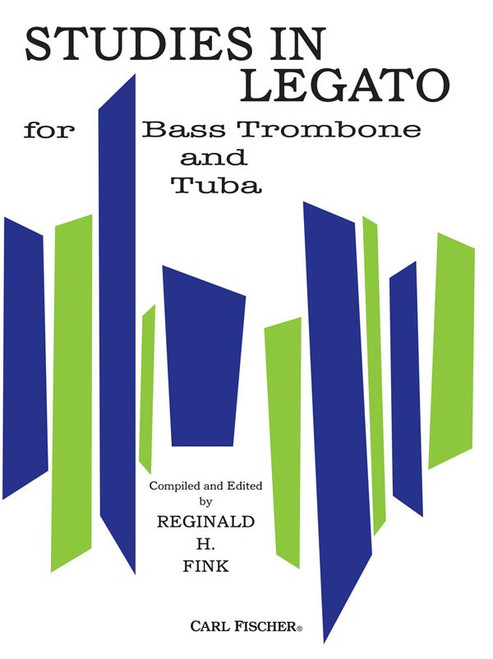 Studies in Legato for Bass Trombone and Tuba by Reginald H. Fink