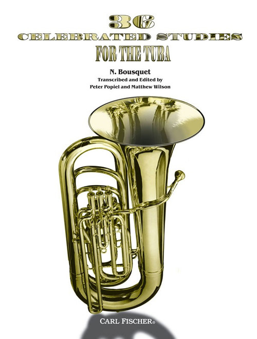 36 Celebrated Studies for the Tuba by N. Bousquet