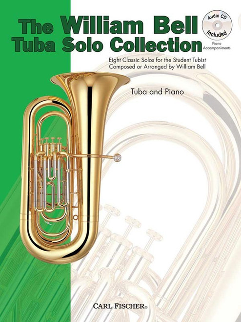 The William Bell Tuba Solo Collection for Tuba & Piano (Book/CD Set)