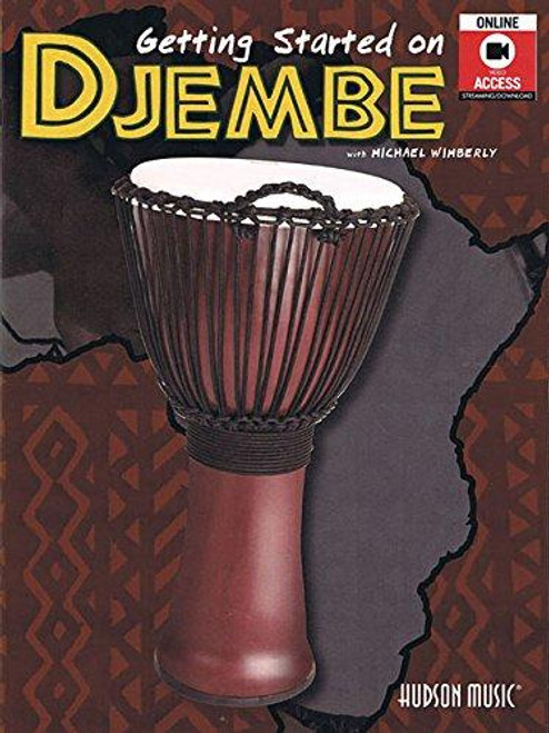 Getting Started on Djembe with Michael Wimberly (Book/DVD Set)