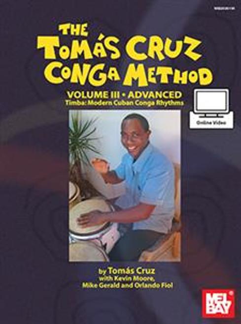 The Tomás Cruz Conga Method, Volume 3 - Advanced (with Online Video)