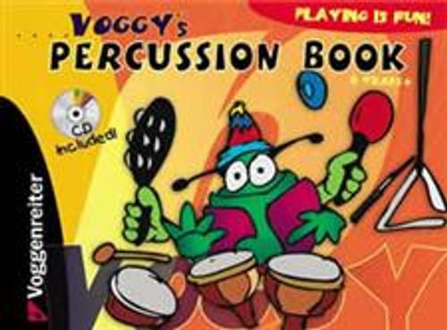Voggy's Percussion Book (Book/CD Set)