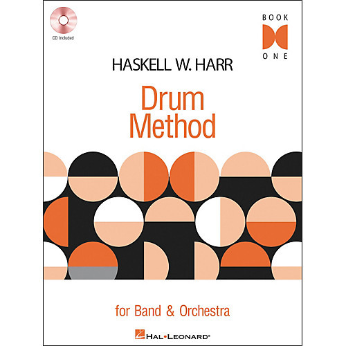 Haskell W. Harr Drum Method, Book 1 (Book/CD Set)