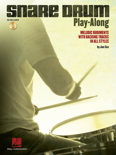 Snare Drum Play-Along by Joe Cox (Book/CD Set)