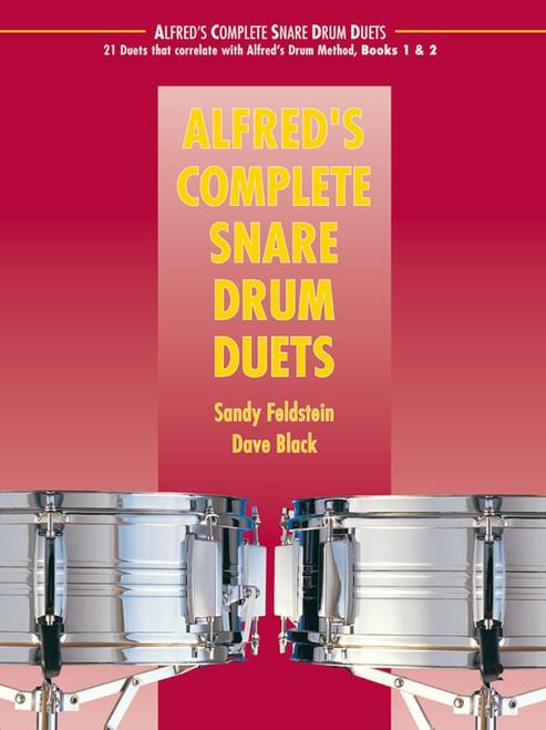 Alfred's Complete Snare Drum Duets by Sandy Feldstein & Dave Black