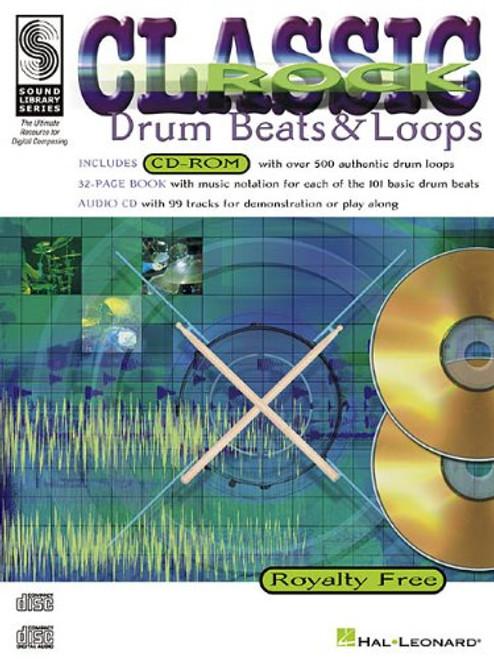 Classic Rock Drum Beats & Loops for Snare Drum (Book/CD Set)