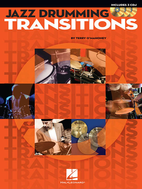 Jazz Drumming Transitions for Snare Drum by Terry O'Mahoney (Book/CD Set)